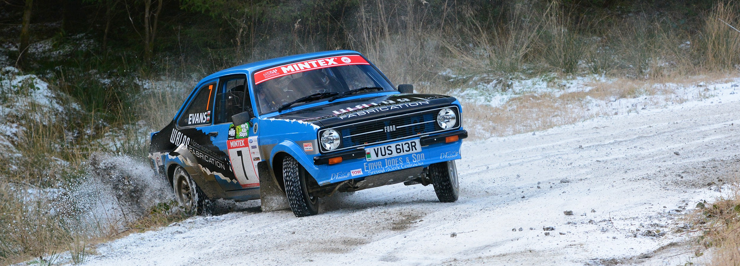Mk2 Escort Rally Car